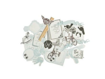 *A&B* KAISERCRAFT Scrapbooking Collectables - Pitter Patter - Boys - CT799