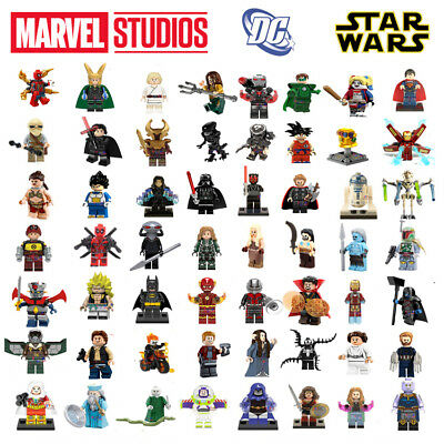 Lego Minifigures Marvel Star Wars Infinity War Super Heroes Dc Lord Of The Rings