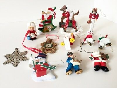 Holiday Ornament Assortment - Great for the Collector (13 ornaments)