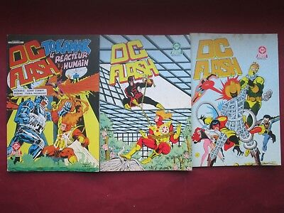 Aredit Dc Comics Lot 3 Flash 3.13.14 1986 Quasi Neufs