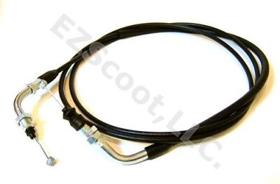 """THROTTLE CABLE S. & Silver  83"""" GY6 4 STROKE SCOOTER VIP ZNEN SSR PEACE BAJA TNG"""