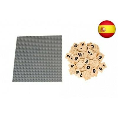Strictly Briks - Base clásica para construir con 95 piezas MathBriks de 4 x 4...
