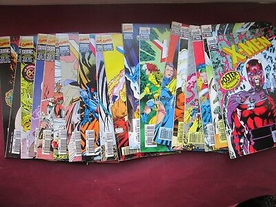 Semic Marcel Comics Lot 18 X-Men Entre 1 Et 20 + Poster 1992 Superbe Etat
