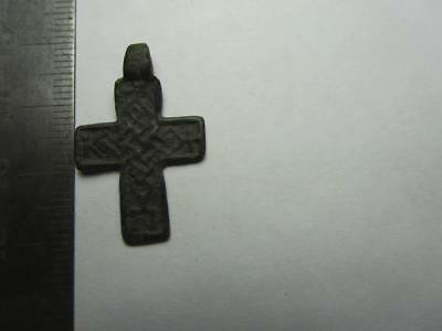 Cross  Medieval finds №154  Metal detector finds  100% original