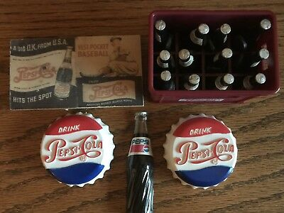 Pepsi Collectibles Lot Of 5 Magnets