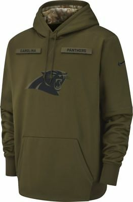 NEW Nike 2018 NFL Salute to Service  Carolina Panthers   Therma Hoodie Limited