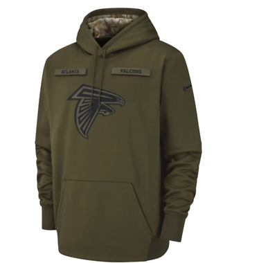 NEW Nike 2018 NFL Salute to Service  Atlanta Falcons    Therma Hoodie Limited