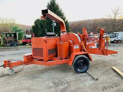 Woodchuck Hyroller 1200 Wood Chipper Diesel Engine Bob Cat Disk Disc 12 Inch
