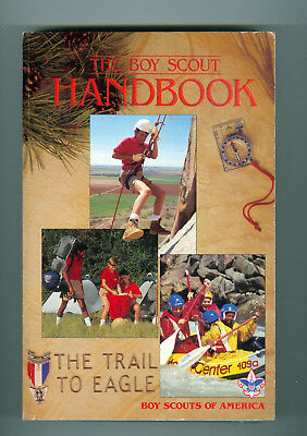 Boy Scout Handbook The Trail to Eagle Copyright 1990  10th edition 2nd printing
