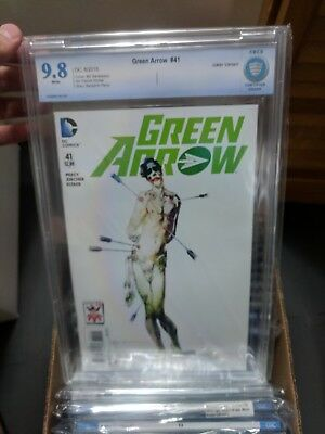 Green Arrow #41 CBCS 9.8