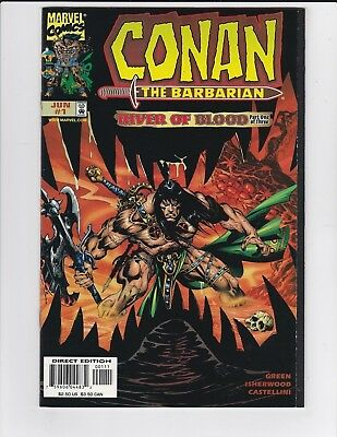 Conan the Barbarian River of Blood #1 2 & 3 Complete Set - 1998 - NM
