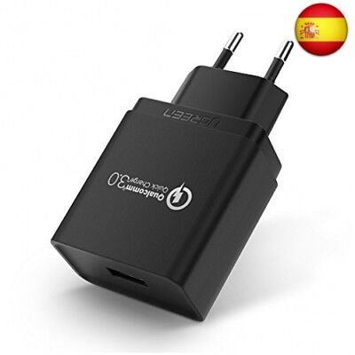 UGREEN Cargador Rápido QC 3.0 18W Quick Charge Qualcomm Certificado para Sams...