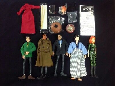 Medicom Toy Stylish Collection Lot - Lupin The 3rd - 5 Figs + Accessories