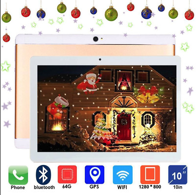 """TABLETTE 10.1"""" IPS 1280x800 QUAD CORE RAM 4GO ROM 64GO 3G ANDROID CHAMPAGNE G"""