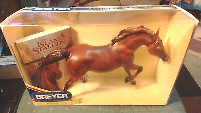 Breyer Horse No. 1216  Walter Farley'S The Island Stallion Flame & Book New
