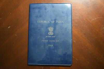 1969 Republic of India coin proof set