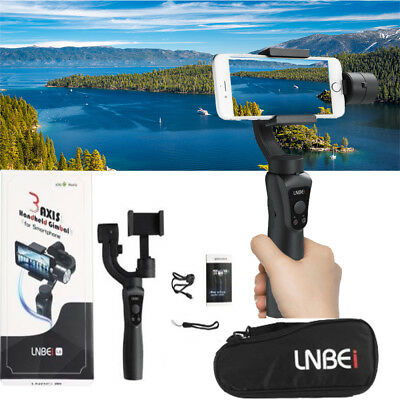 UK Smooth-Q 3-Axis Handheld Gimbal Stabilizer for Smartphone iPhone X Samsung So