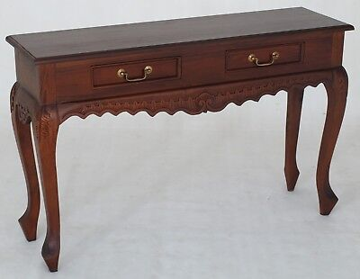 """Maison"" BRAND NEW 120cm Solid Mahogany Hardwood Carved Hall Table Console"