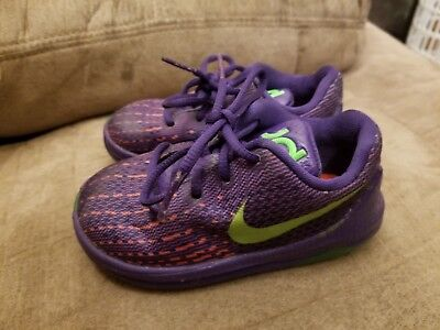1dba14829912 Nike Kevin Durant KD 8 Shoes Hyper Purple 768869-535 Infant Toddler - Size  6C