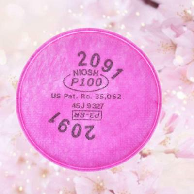 Dust Filter cotton for 3M 2091 Anti-Dust gas Mask filtering mists poisonous @T
