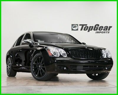 2009 Maybach 57 57S 2009 Maybach 57S  Black on Black. Low Miles