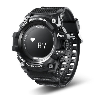 Rechargeable Waterproof Sports Smart Watch Heart Rate Monitor for iOS Android