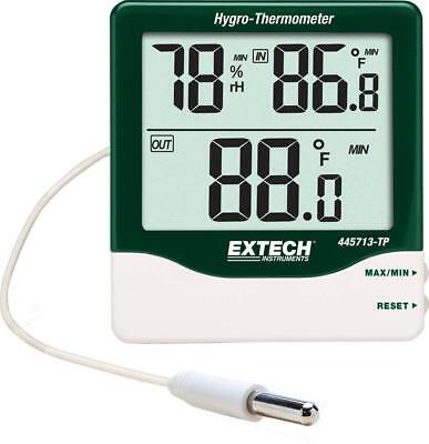 Extech Instruments 445713-TP Big Digit Indoor/Outdoor Hygro-Thermometer