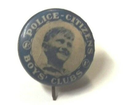 Police Citizens Boys Club  Badge / Pin
