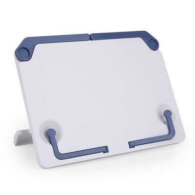 Foldable Desk Music Sheet Document Holder Rack Table Top Cook Book Stand 134g AU