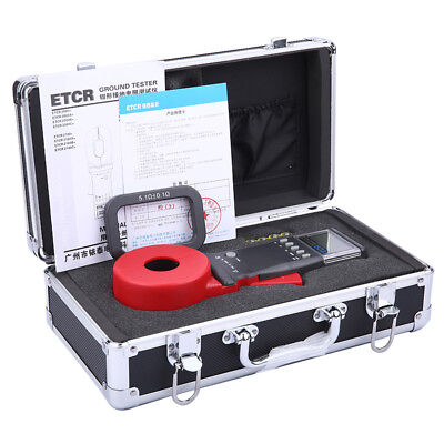 ETCR2100A+ Digital Clamp On Ground Earth Resistance Meter Ground Tester
