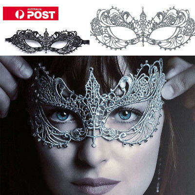 HOT Fifty Shades Darker Anastasia Steele Lace Masquerade Mask 50 Shades of Grey