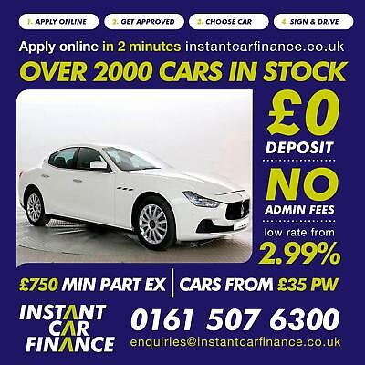 Maserati Ghibli 3.0TD(275ps)(s/s)Auto2015MY FINANCE FROM £135 PER WEEK