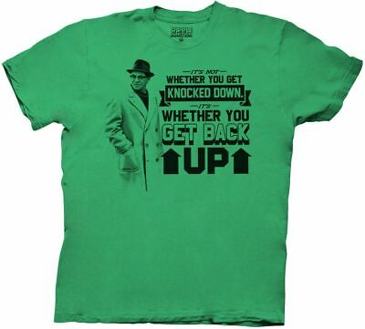 Green Bay Packers Vince Lombardi Get Back Up Men's Green T-Shirt