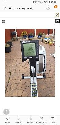 rowing machine used concept2 model D