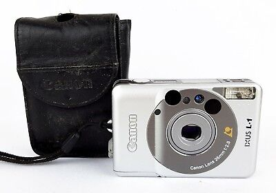 Canon IXUS L1 APS Compact Film Camera - Canon Case
