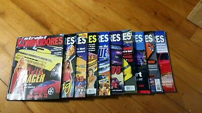Street Commodores Magazine Number # 40 41 42 43 44 45 46 47 48 49 (10 avail)