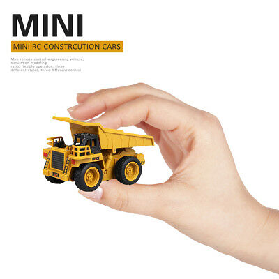 Engineering Vehicles Car Toy 1:64 4CH RC Mini Dump Truck Excavator Crane Truck