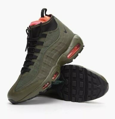 online retailer b7c66 2a4b2 ... promo code for nike air max 95 sneakerboot trainers uk10 army green  black red 43091 4f266