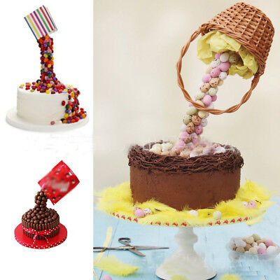 Anti-Gravity Pouring Cake Stand Kit Fondant Decoration Sugarcraft Making Tool