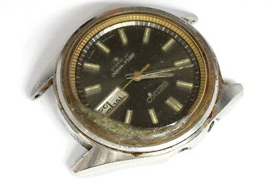 Seiko 17 jewels 4006-7020 Bell-Matic for PARTS!!! - Sn. 858358
