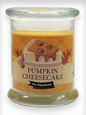 Pumpkin Cheesecake Natural Scented Soy Wax 12Oz Fall &Amp; Winter Candle  Non...
