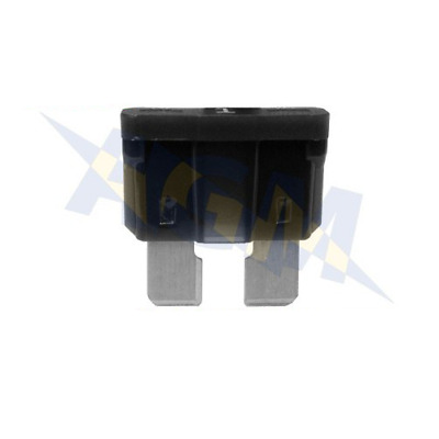 Durite 0-375-01 Standard Automotive Blade Fuse - 1A Black - Pack of 10