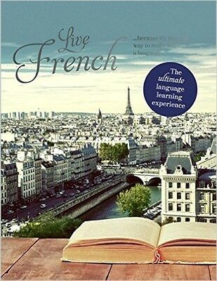 Live French Language Learning Course (Teach Yourself) New in-shrink