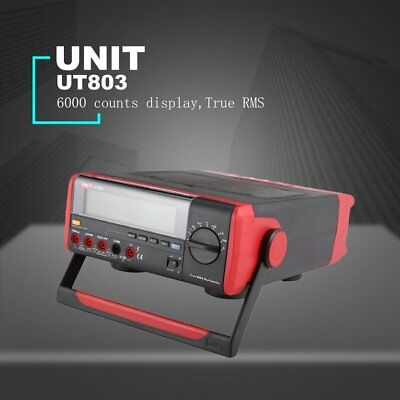 UNI-T UT803 Digital Bench-type Multimeter DC/AC Voltage Meter Tester True RMS YO