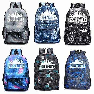 Fortnite Game Backpack Rucksack Battle Royal Outdoor Camping School Bag Men Boys