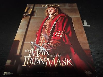 The Man in the Iron Mask Postcard