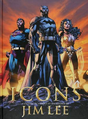 BD occasion  Icons l'univers DC comics et wildstorm de Jim Lee Akileos