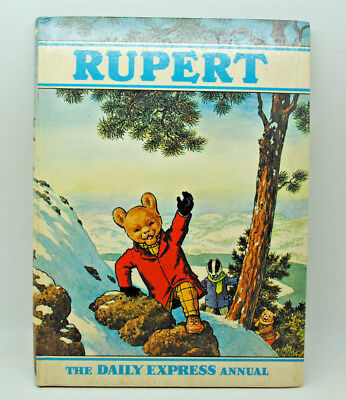 Rupert Bear Annual 1970  Price Unclipped  Inscribed Good Condition