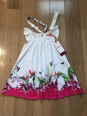 Baker by Ted Baker - 'girls' dress and headband set Size Age 2-3