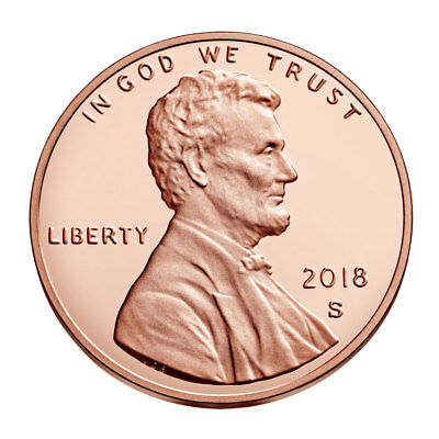 2018-S Proof Lincoln Cent - Deep Cameo Gem Proof